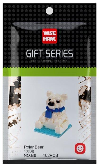 Конструктор Wisehawk Gift Series B6 Белый медведь