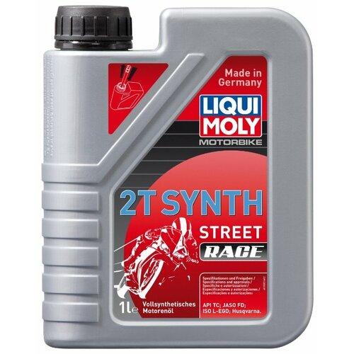 Синтетическое моторное масло LIQUI MOLY Motorbike 2T Synth Street Race, 1 л по цене 759