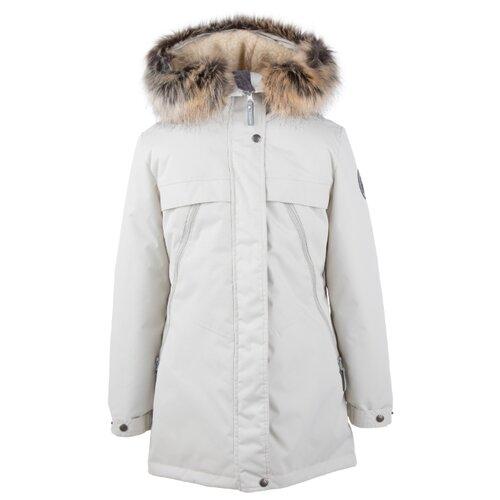 Купить Парка KERRY Margo K20463 размер 134, 0101 белый, Куртки и пуховики