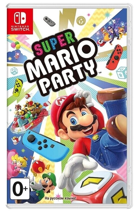 Игра для Nintendo Switch Super Mario Party, полностью на русском языке фото 1