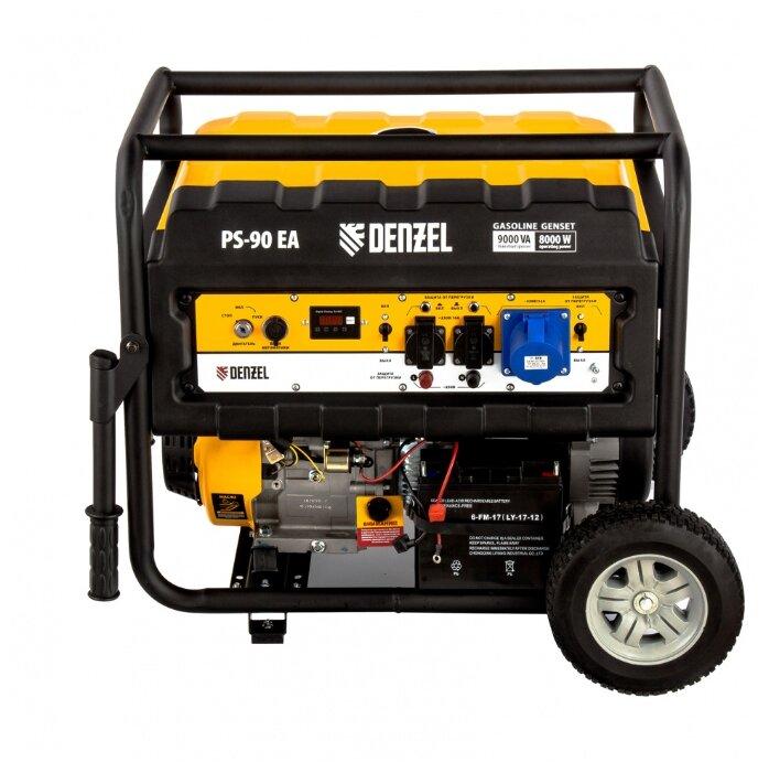 Бензиновый генератор Denzel PS 90 EA (8000
