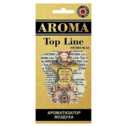 AROMA TOP LINE Ароматизатор для автомобиля Aroma №24 Shaik 33 14 г