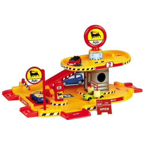 Купить Faro 701 красный/желтый/серый, Детские парковки и гаражи