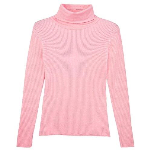 Купить Водолазка playToday размер 134, светло-розовый, Свитеры и кардиганы