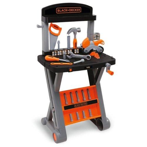 Купить Smoby Верстак Black&Decker (360300), Детские наборы инструментов