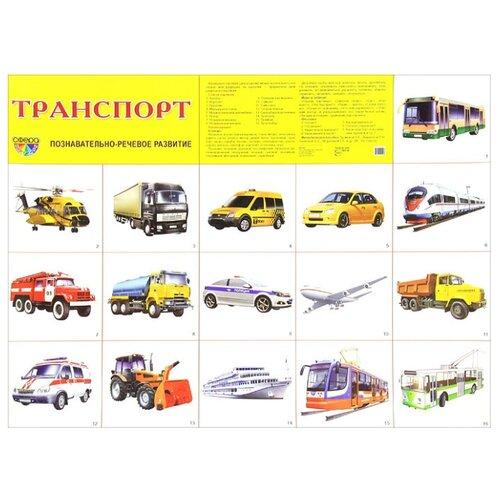 Купить Плакат Творческий Центр СФЕРА Транспорт, Обучающие плакаты