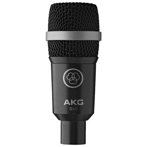 Микрофон AKG D40 черный