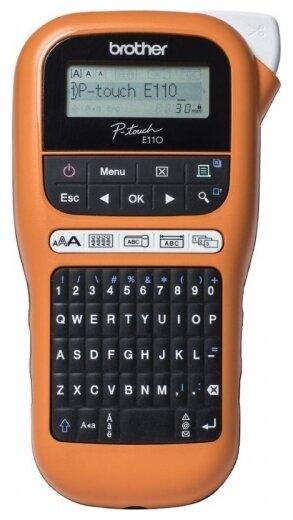 Термотрансферный принтер этикеток Brother PT-E110VP