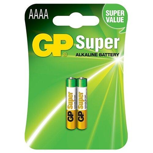 Фото - Батарейка GP Super AAAA, 2 шт. gp pb570gs270 2cr4