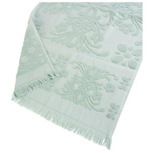 Arya Полотенце с бахромой Isabel Soft для лица 50х90 см мятный arya полотенце miranda soft для лица 50х90 см сухая роза