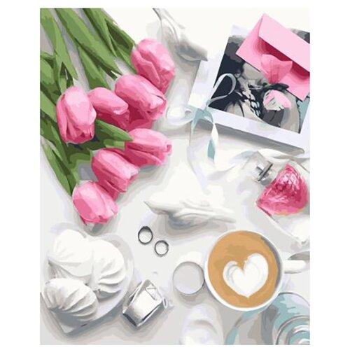 Купить Картина по номерам ВанГогВоМне ZX 23122 Праздничный завтрак 40х50 см, Картины по номерам и контурам