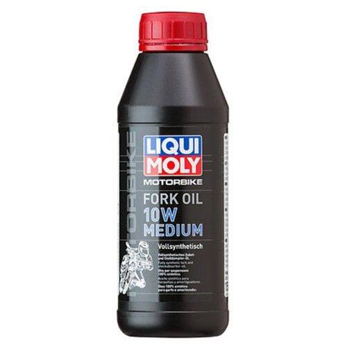 Вилочное масло LIQUI MOLY Motorbike Fork Oil Medium 10W 0.5 л вилочное масло eni fork 10w 1 л