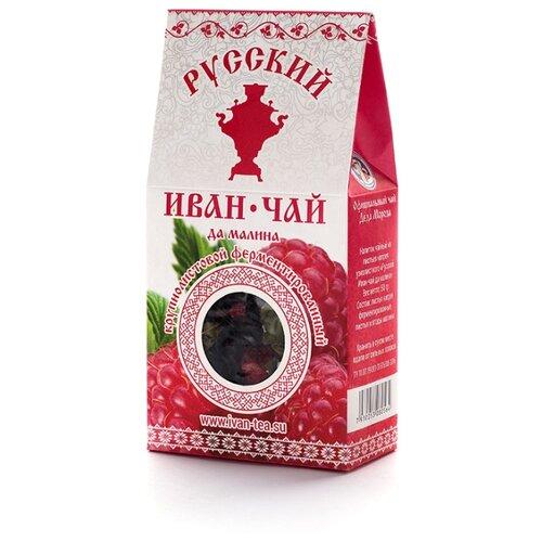 Напиток чайный Русский Иван-чай да малина крупнолистовой ферментированный , 50 г фото