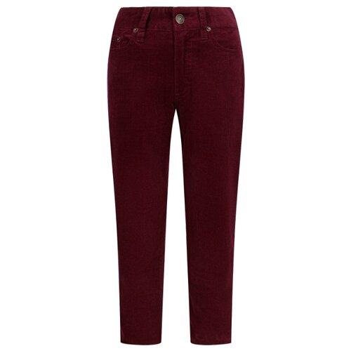 Купить Брюки Ralph Lauren 321798367004 размер 92, бордовый, Брюки и шорты
