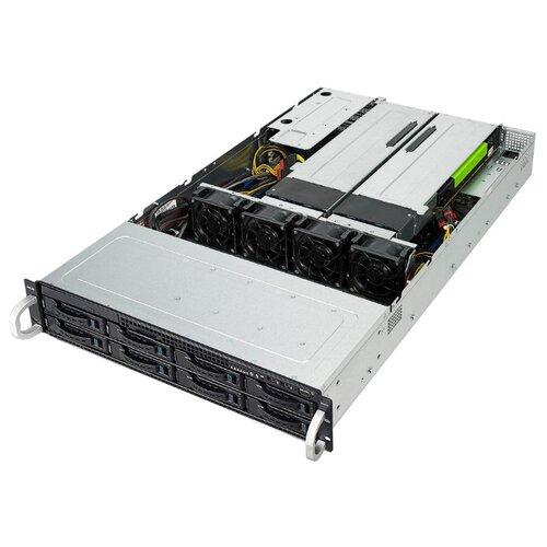 Сервер ASUS RS720-E9-RS8-G без процессора/без ОЗУ/без накопителей/количество отсеков 2.5\