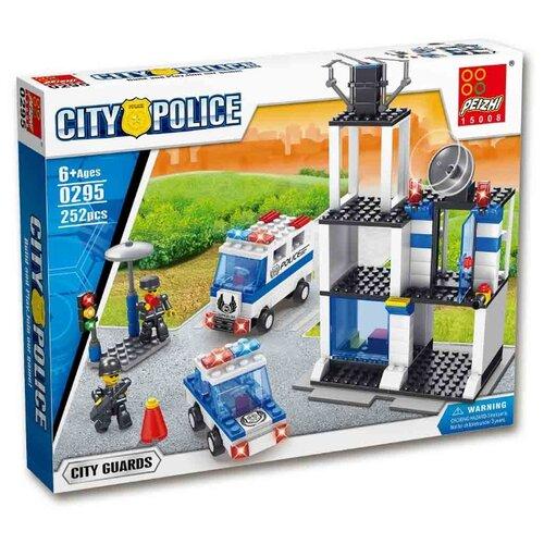 Купить Конструктор Peizhi City Police 0295, Конструкторы