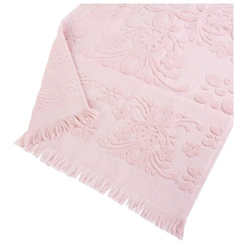 Arya Полотенце с бахромой Isabel Soft банное 70х140 см пудра банное полотенце arya 70х140 см jewel