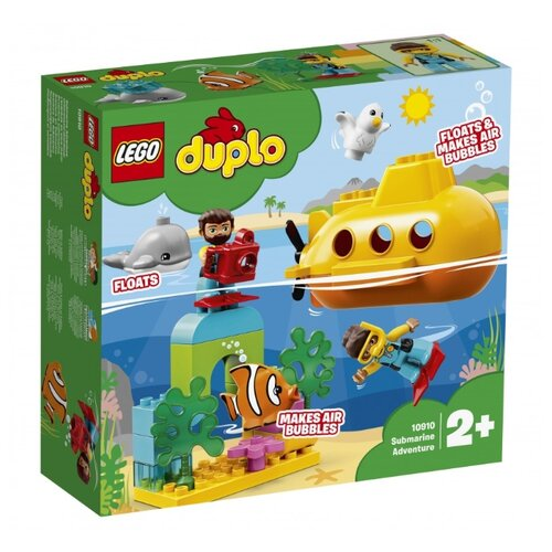 Конструктор LEGO Duplo 10910 Путешествие субмарины lego duplo 10837 новый год lego
