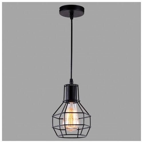 Светильник Arte Lamp SPIDER BLACK A1109SP-1BK, E27, 60 Вт