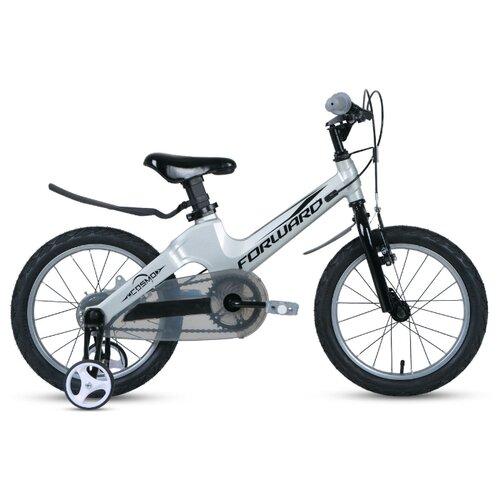 Фото - Детский велосипед FORWARD Cosmo 16 2.0 (2020) серый (требует финальной сборки) велосипед forward racing 16 girl compact 2015