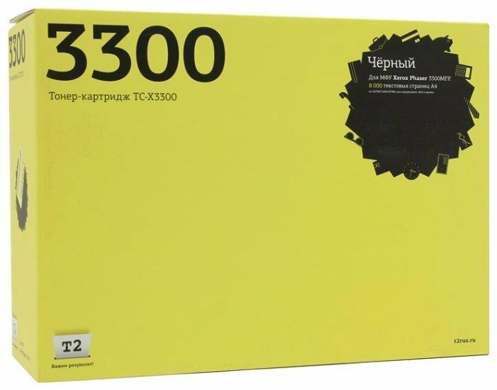 Картридж T2 TC-X3300, совместимый — цены на Яндекс.Маркете