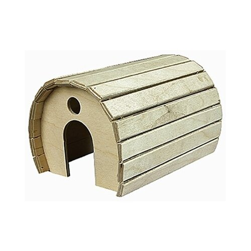 Домик для грызунов Дарэлл, деревянный игрушка для грызунов дарэлл кубик малый деревянный 10 х 10 х 11 5 см 1 шт