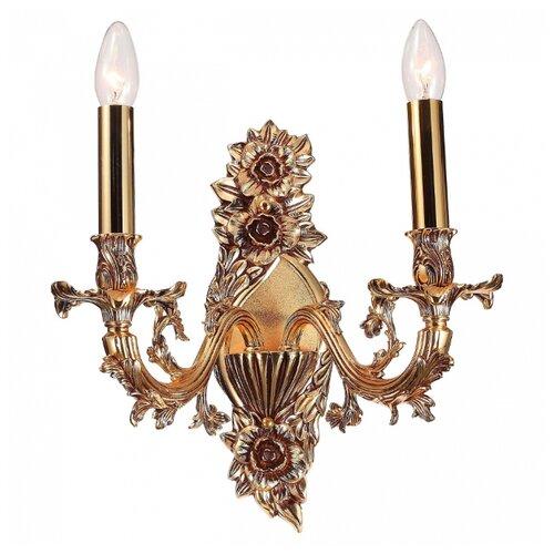 Фото - Настенный светильник Lucia Tucci Firenze W1780.2 Antique Gold, 80 Вт настенный светильник lucia tucci ashanti w1250 2 blu