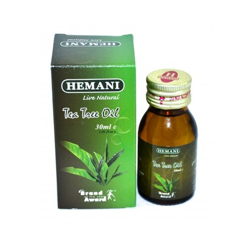 Hemani эфирное масло Чайное дерево, 30 мл