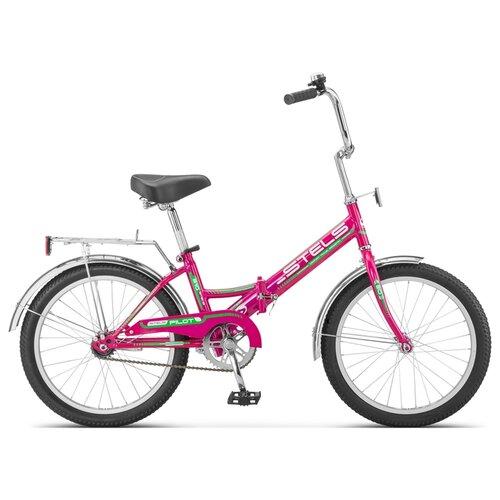 """Городской велосипед STELS Pilot 310 20 Z011 (2020) малиновый 13"""" (требует финальной сборки)"""
