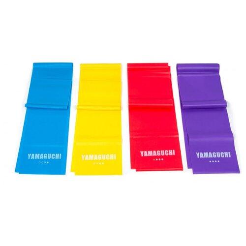 Эспандер лента 4 шт. Yamaguchi Band FIT 150 х 15 см