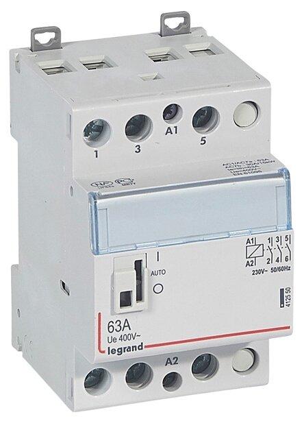 Модульный контактор Legrand 412550 63А — купить по выгодной цене на Яндекс.Маркете