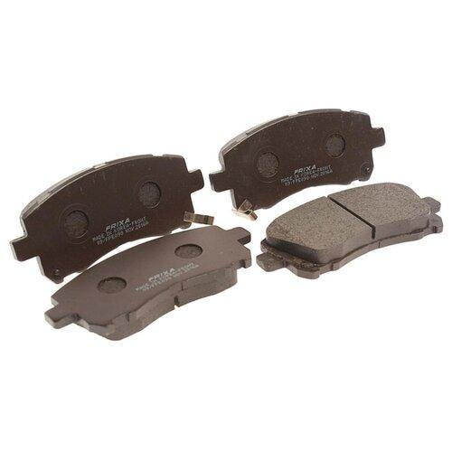 Фото - Дисковые тормозные колодки передние Frixa FPE098 для Subaru Forester, Subaru Legacy, Subaru Outback (4 шт.) дисковые тормозные колодки передние frixa fpe019 для toyota camry 4 шт