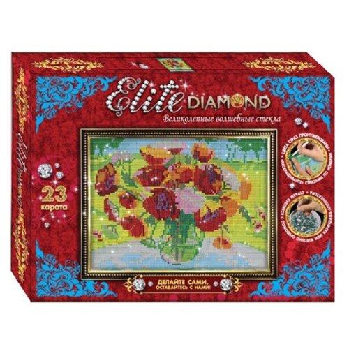Купить Лапландия Набор алмазной вышивки Elite Diamond Маки (45665), Алмазная вышивка