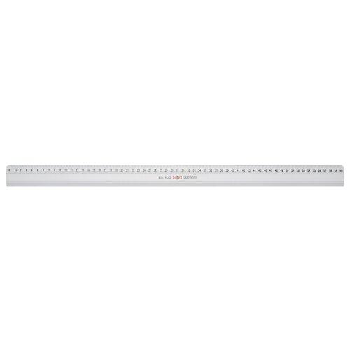 Купить KOH-I-NOOR Линейка металлическая 60 см (9102060001te) серебристый, Чертежные инструменты