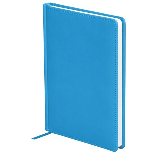 Купить Ежедневник OfficeSpace Winner недатированный, искусственная кожа, А5, 136 листов, ярко-синий, Ежедневники, записные книжки