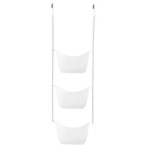 Этажерка на стену душевой кабины Umbra Bask 022360 белый