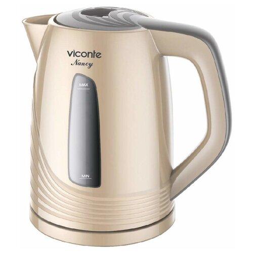 Чайник Viconte VC-3284, бежевый чайник viconte vc 3275