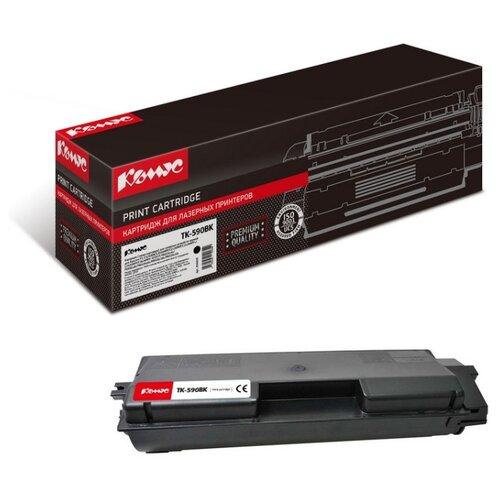 Фото - Картридж лазерный Комус TK-590K черный, для Kyocera FS-C2026MFP/C2626M картридж лазерный комус tk 580k черный для kyocera fs c5150dn