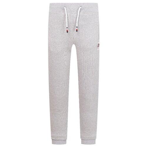 Спортивные брюки TOMMY HILFIGER размер 152, серый брюки спортивные для мальчика cherubino цвет серый меланж cwj 7739 191 размер 152