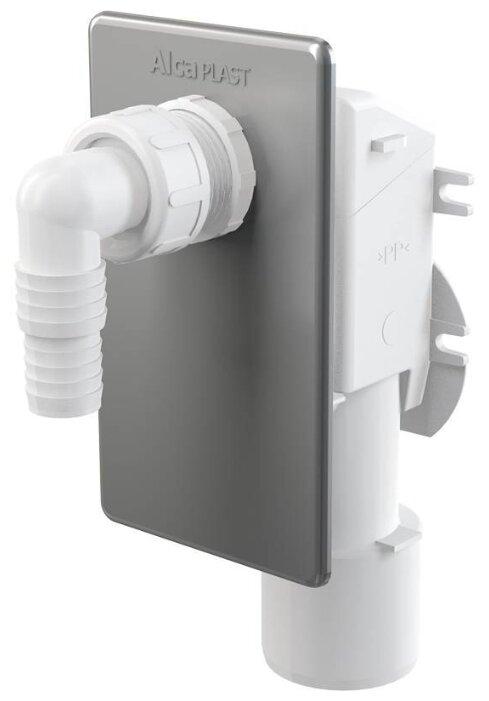 Встраиваемый сифон для стиральной машины, для посудомоечной машины AlcaPLAST APS3