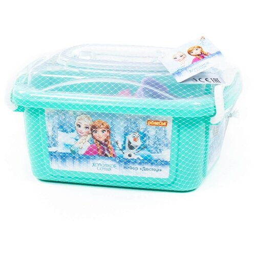 Набор доктора Полесье Disney Холодное сердце (73228) полесье набор игрушек для песочницы полесье disney pixar тачки 18 5 предметов