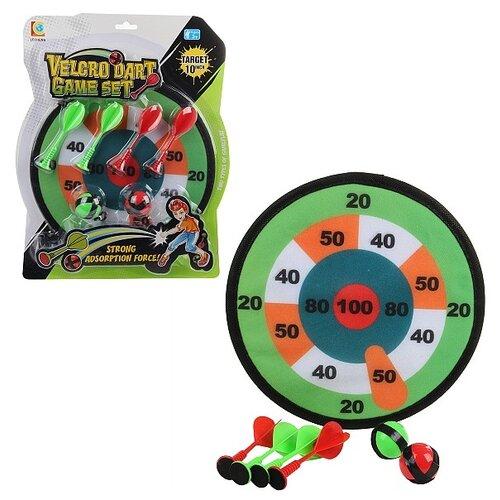 Купить Дартс Lecheng 93763 зеленый/красный, Спортивные игры и игрушки