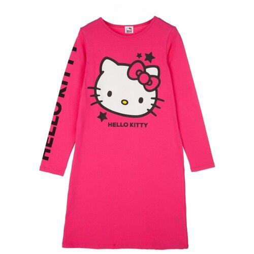 Купить Сорочка playToday размер 140, фуксия, Домашняя одежда