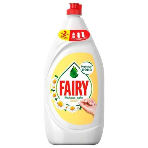 Fairy Средство для мытья посуды Ромашка и витамин Е 1.35 л