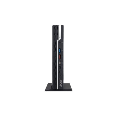 Настольный компьютер Acer Veriton N4660G (DT.VRDER.1AE) Slim-Desktop/Intel Core i3-9100/4 ГБ/128 ГБ SSD/Intel UHD Graphics 630/Linux черный настольный компьютер lenovo ideacentre 510s 07icb intel core i3 8100 3600 mhz 4gb 1000gb dvd rw intel uhd graphics 610 no os