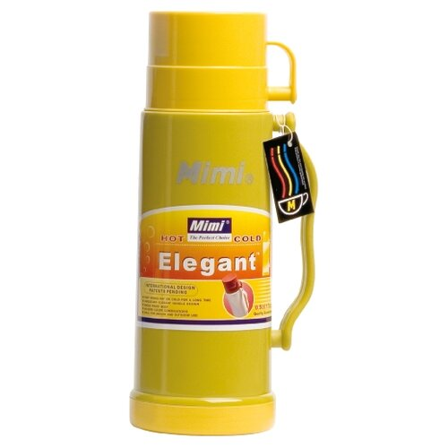 Классический термос Mimi Elegant, 0.5 л желтый