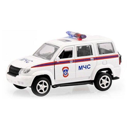 Купить Внедорожник Play Smart УАЗ Патриот 3163 МЧС (6403A) 1:50 белый, Машинки и техника