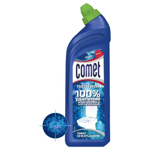Comet гель для туалета Expert океан, 0.7 л недорого