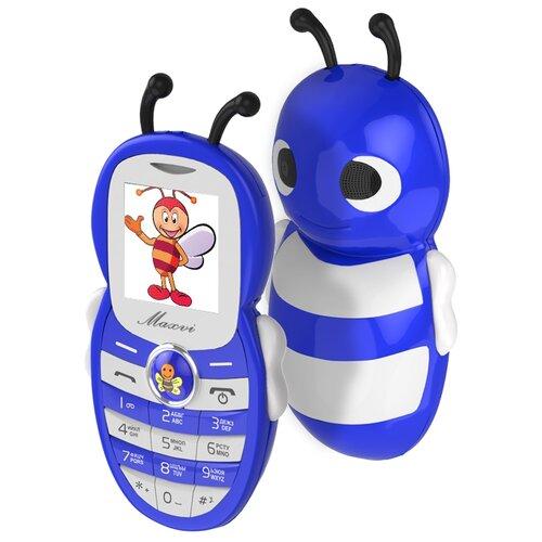 Купить Телефон MAXVI J8 синий