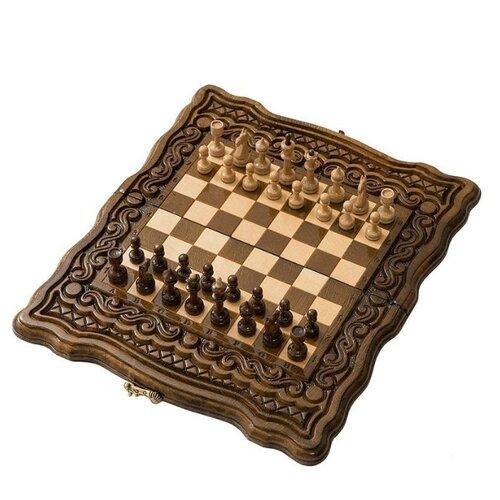 Haleyan Шахматы + нарды резные Бриз